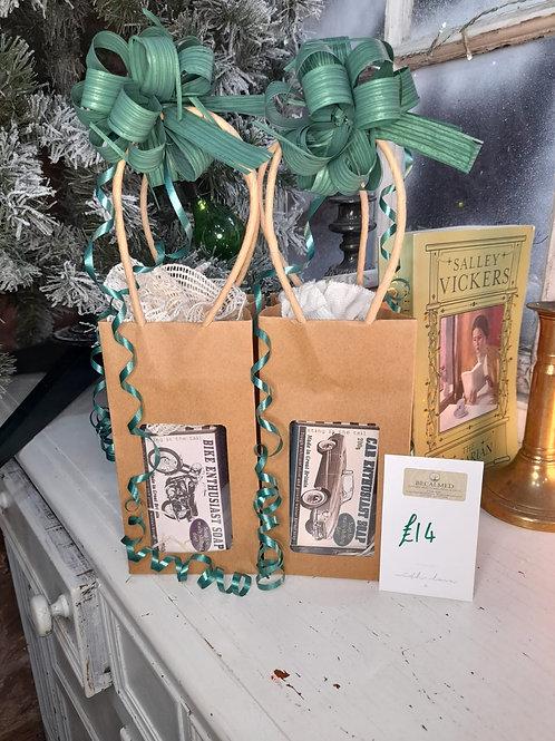 Transport enthusiast soap gift set