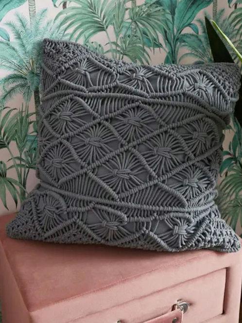 Marvellous macrame cushion