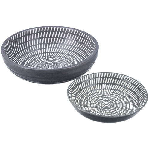 Abstract round dish (2 sizes)
