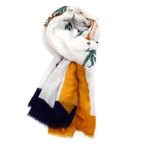Wild flowers scarf