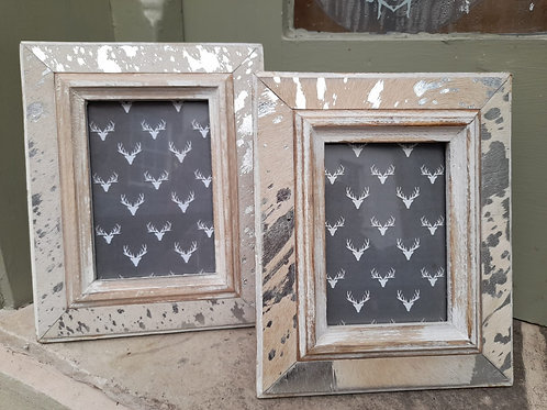 Country style picture frame