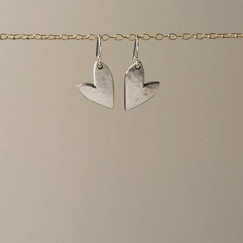Mini true love drop earrings