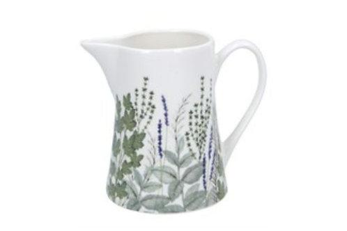 Herbs bone China jug - two sizes(80451)