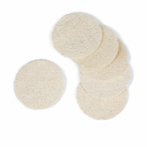 Natural Loofah facial discs