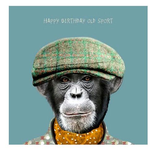 Happy Birthday old sport -Greeting Card