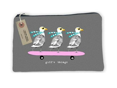 Gulls things- cosmetic bag