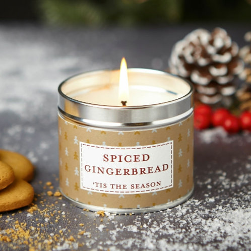 Spiced gingerbread candle  - Noel collection