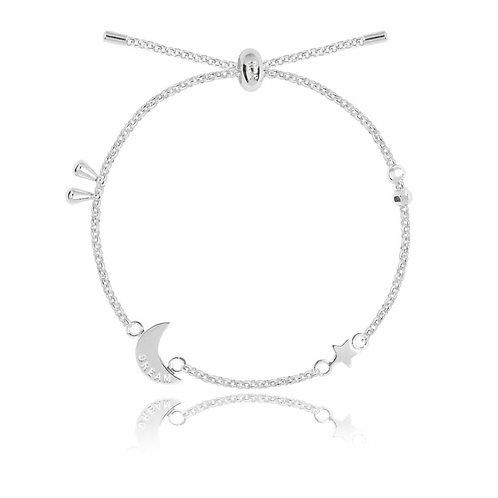 Dream- moon detail bracelet