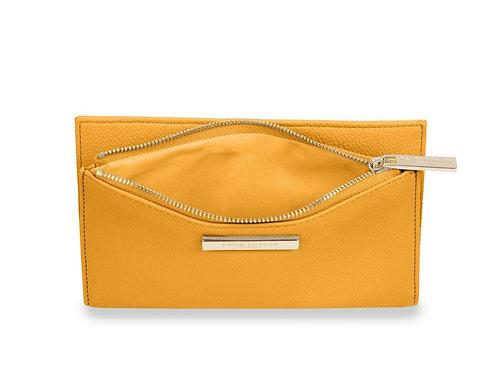 Alise soft pebble purse- Ochre