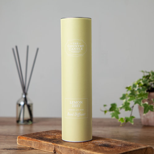 Lemon zest reed diffuser - Pastels collection