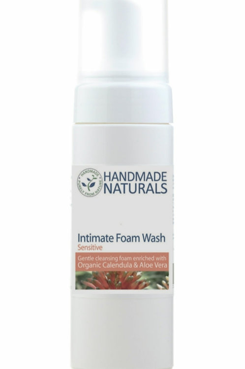 Unscented intimate foam wash