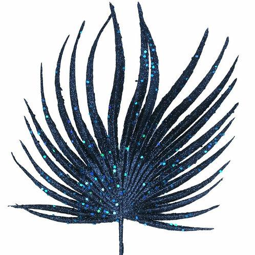 Blue glitter palm stem (60758)