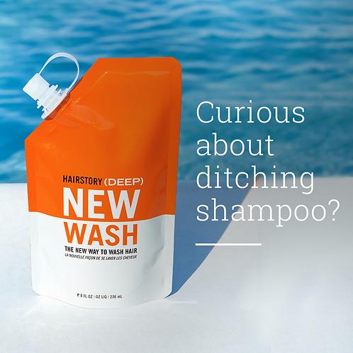 Hair story- new wash