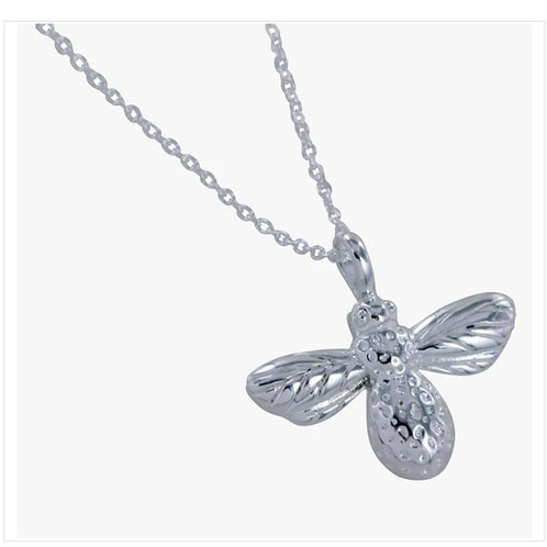 Sterling silver bumble bee necklace (BB97)