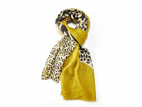 Tigers and leopard scarf