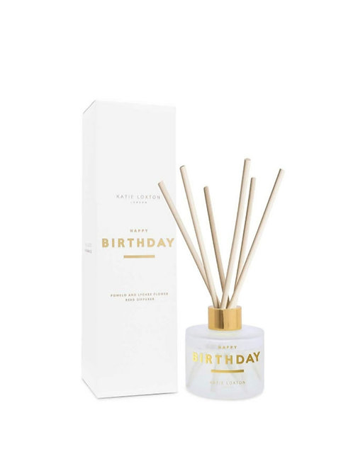 Happy Birthday reed diffuser