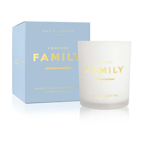 Forever family candle