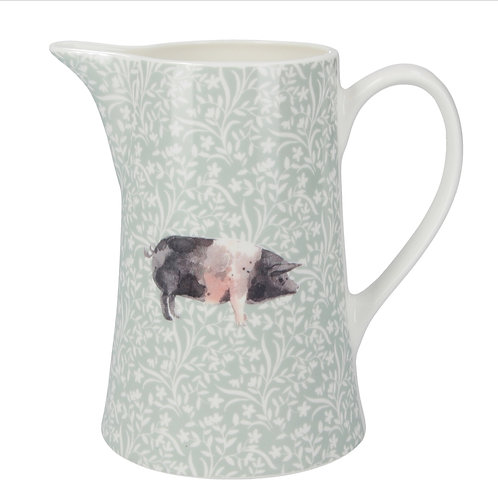Bone china pig jug (two sizes)