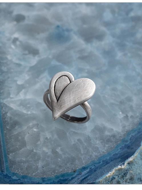 Simply you heart ring -medium