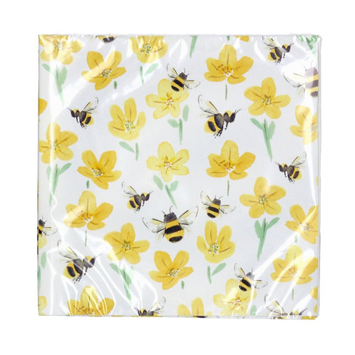Bee napkins (81046)