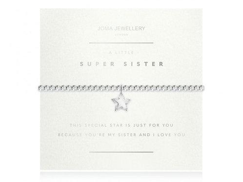A little faceted super sister bracelet