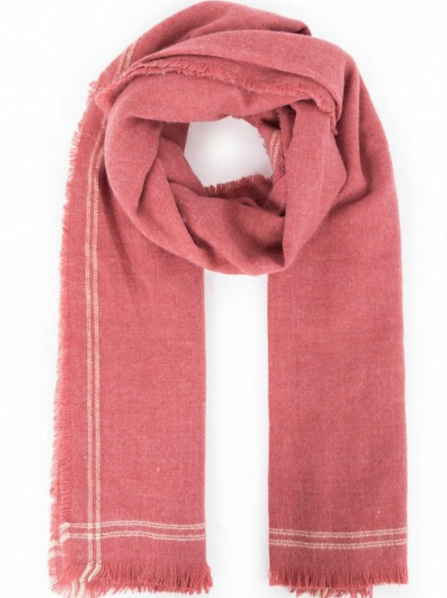 Molly scarf- Coral