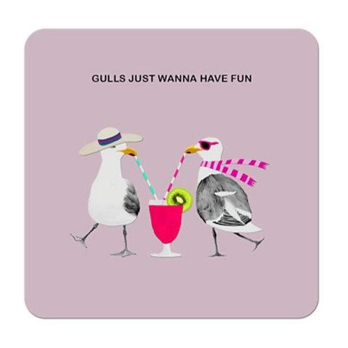 Gulls just wanna hace fun- coaster