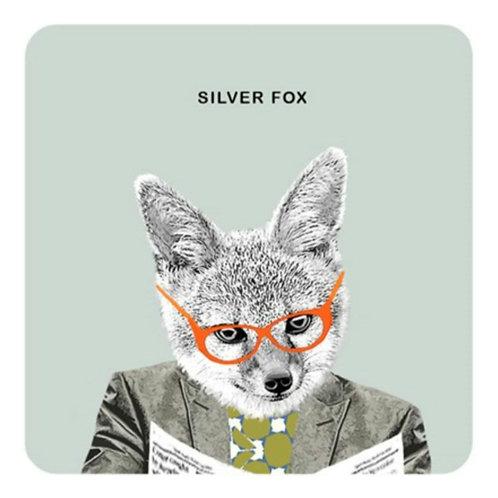Silver fox - coaster