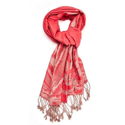 Gold tiger scarf (pashmina)