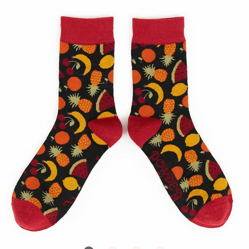 Mens mixed fruit Socks