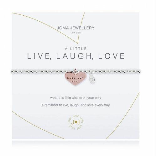 A little live, laugh, love bracelet