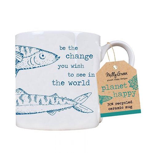 Ocean 14oz mug- 30% recycled ceramic