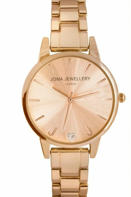 Piper watch- rose gold