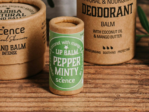 Pepperminty lip balm