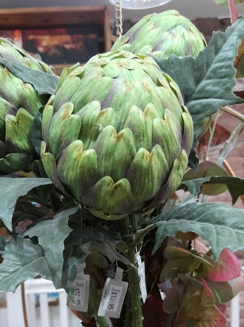 Large artificial artichoke stem