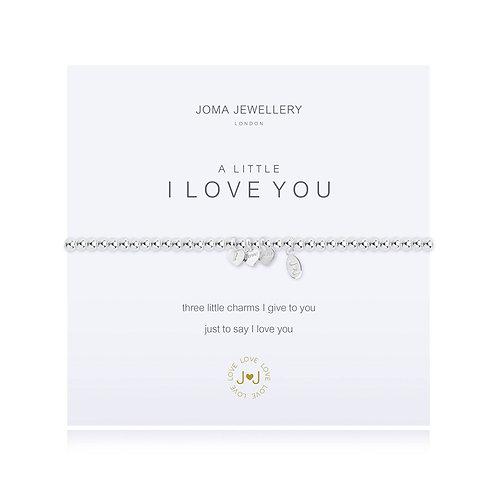 A Little 'I love you' bracelet