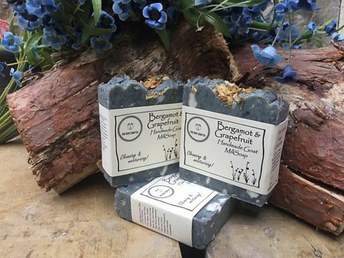 Bergamot & grapefruit goat milk soap