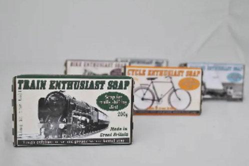 Train enthusiast soap 200g
