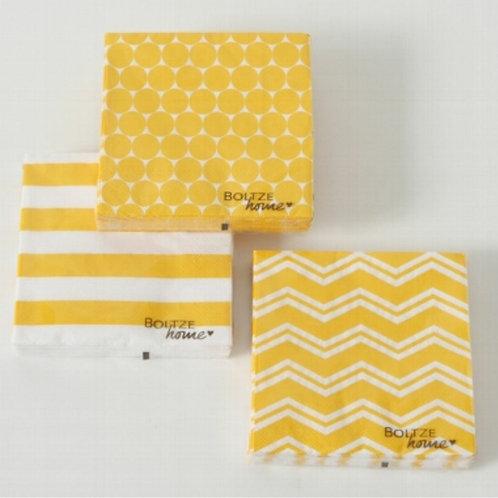Nordic gold napkins