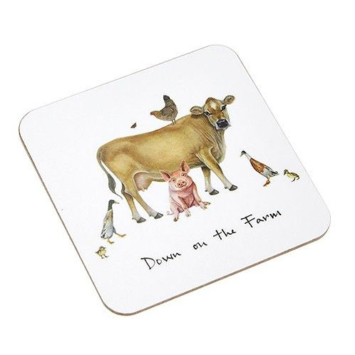 Down On The Farm Coaster