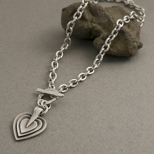 Layers of love necklace (2 lengths)