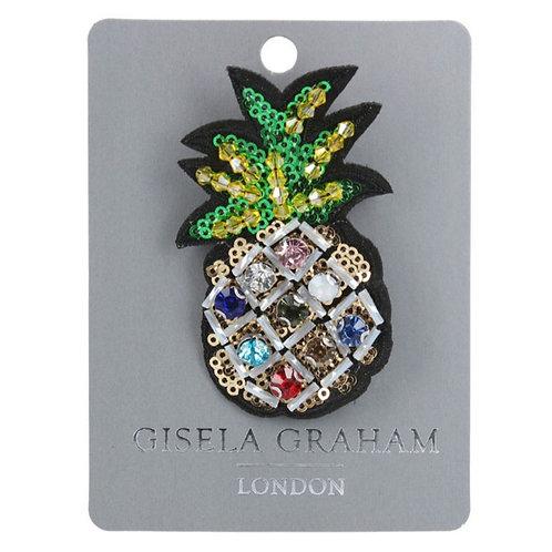Jewelled Pineapple brooch