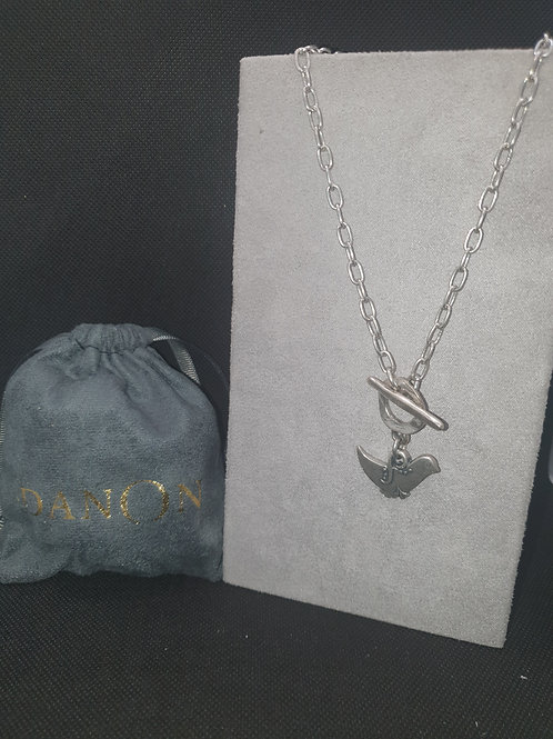 Bird T-bar necklace