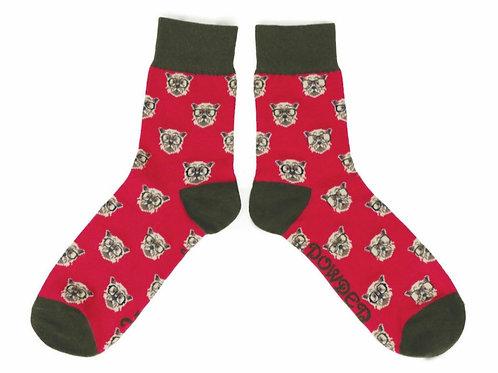 Westie Mens Ankle Socks (two colourways)