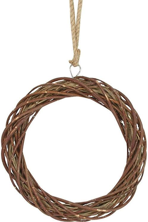 Round twig wreath