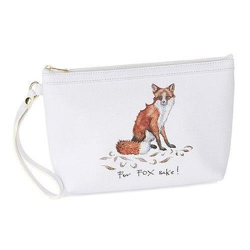 For fox sake make up bag