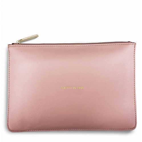 Pretty In  Pink Perfect Pouch