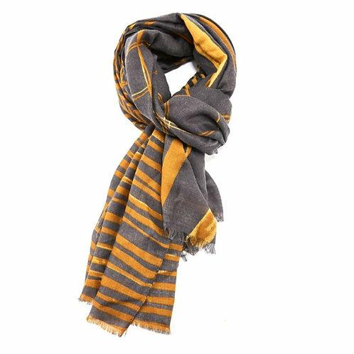 Mishmash geo scarf