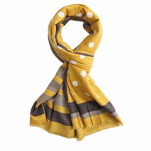 Dots winter scarf (4 colourways)