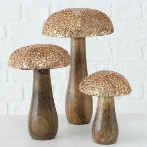 Tukko decorative mushrooms (3 sizes available)